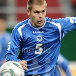 Fussball International  U 21 Laenderspiel:  Toni Markic (Bosnien und Herzegowina)
