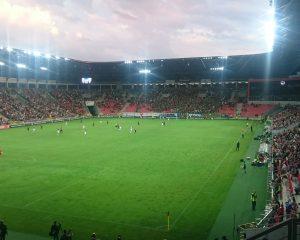 """Mecz w Tychach, czyli powrót z """"Ligi Mistrzów"""" na prowincję"""